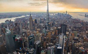 burj dubai new york comparaison