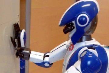 hrp-4 airbus multi-contacts tests kawada humanoïde robot
