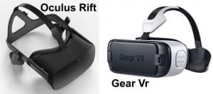 oculus rift gear vr
