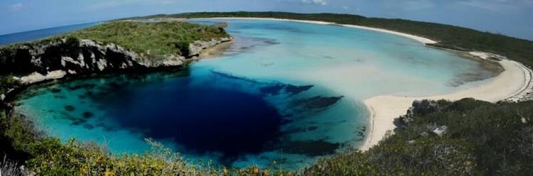 trou bleu dean bahamas cavité sous marine