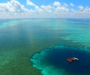 trou bleu du dragon chine sud mer sous marin