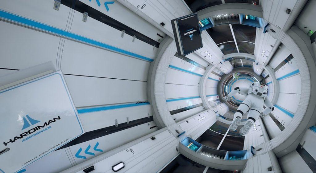 ADR1FT espace jeux vidéo réalite augmentée intérieur station spatiale