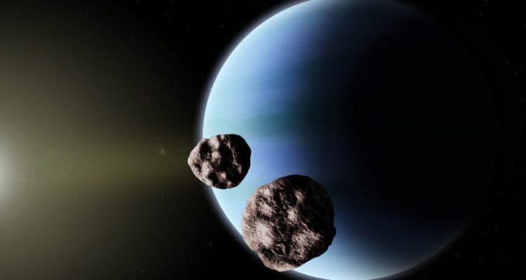 troyens satellites astéroïdes neptune