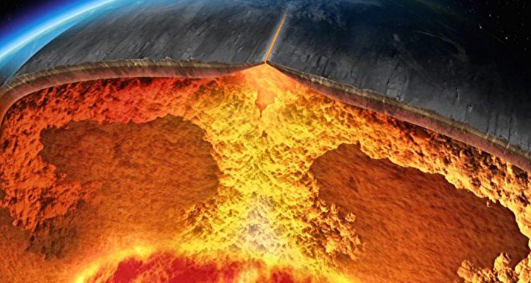 voyage centre terre couches terrestres