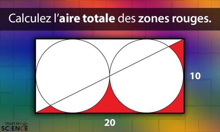 calcul zones aire rouge mathématiques