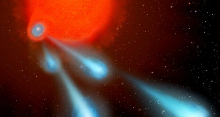 boules de plasma ejectées étoiles telescope spatial hubble