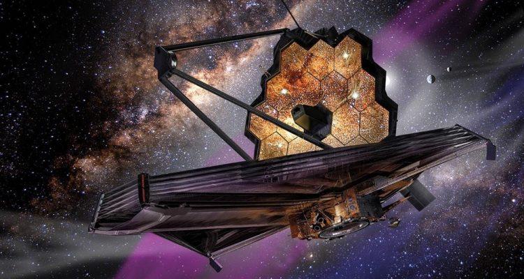 construction james webb télescope spatial
