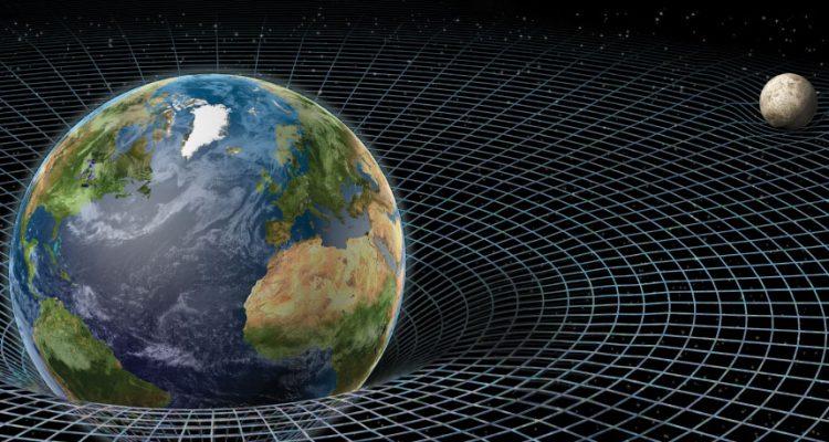 terre lune espace gravitation gravité physique modèle