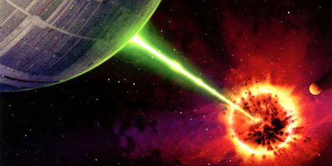etoile de la mort destruction planete
