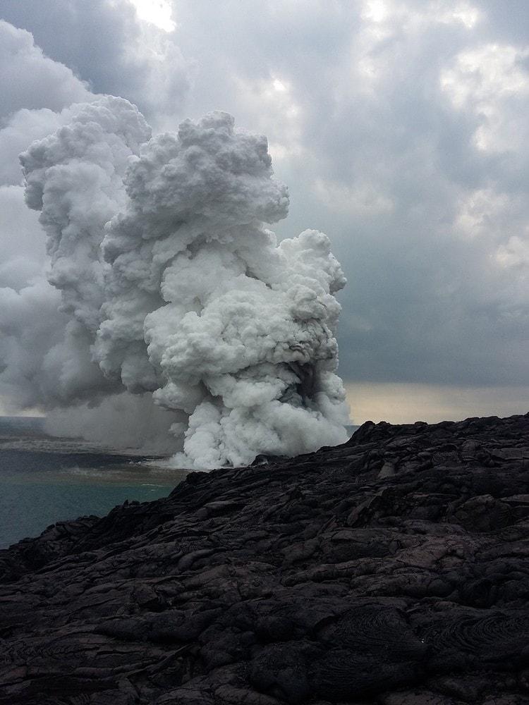 gas hawaii ocean lave effondrement (entier petit)