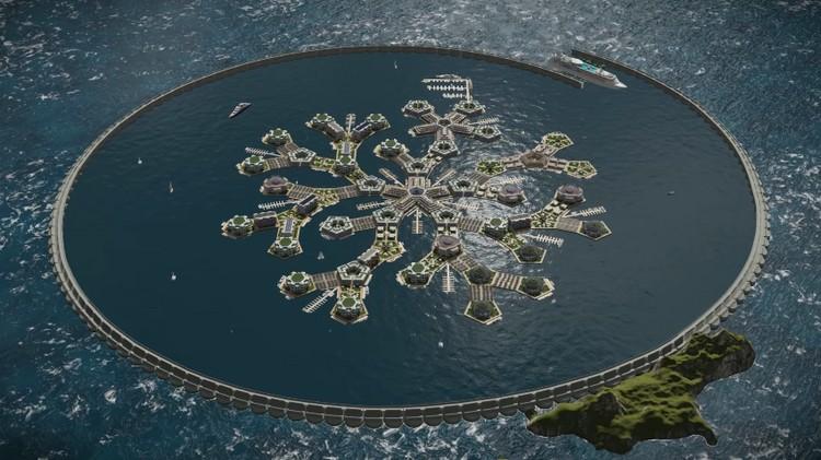 ile ville flottanteSeasteading Institute