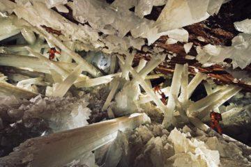 cave grotte crystal forme de vie microbe microbienne