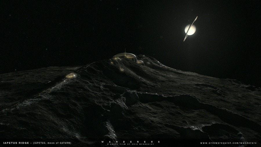 lune de saturne exploration spatiale