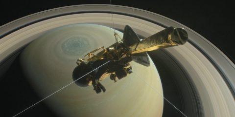 saturne sonde cassini nasa JPL destruction anneaux glace gaz planète