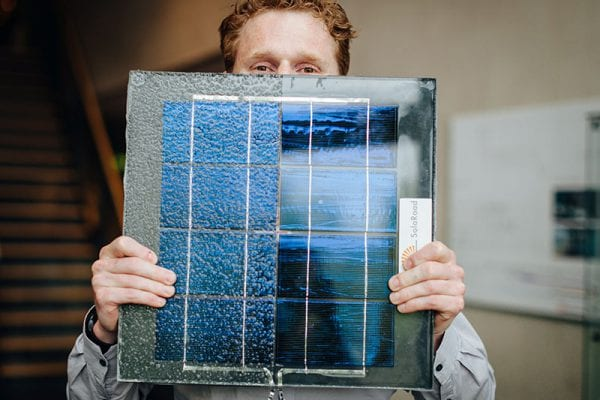 solaroad panneau solaire