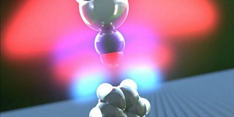 vue coté hydrogène atomes liaison création titre