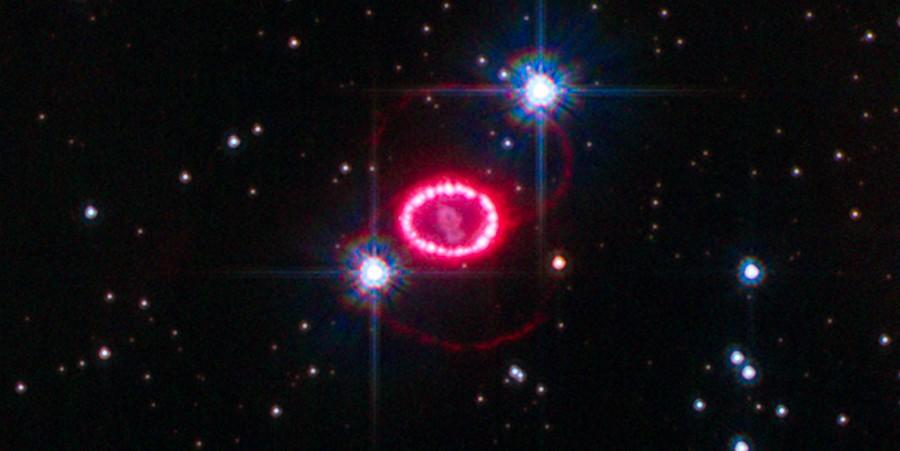 supernova 1987 nuage magellan rémanent 3d cartographie