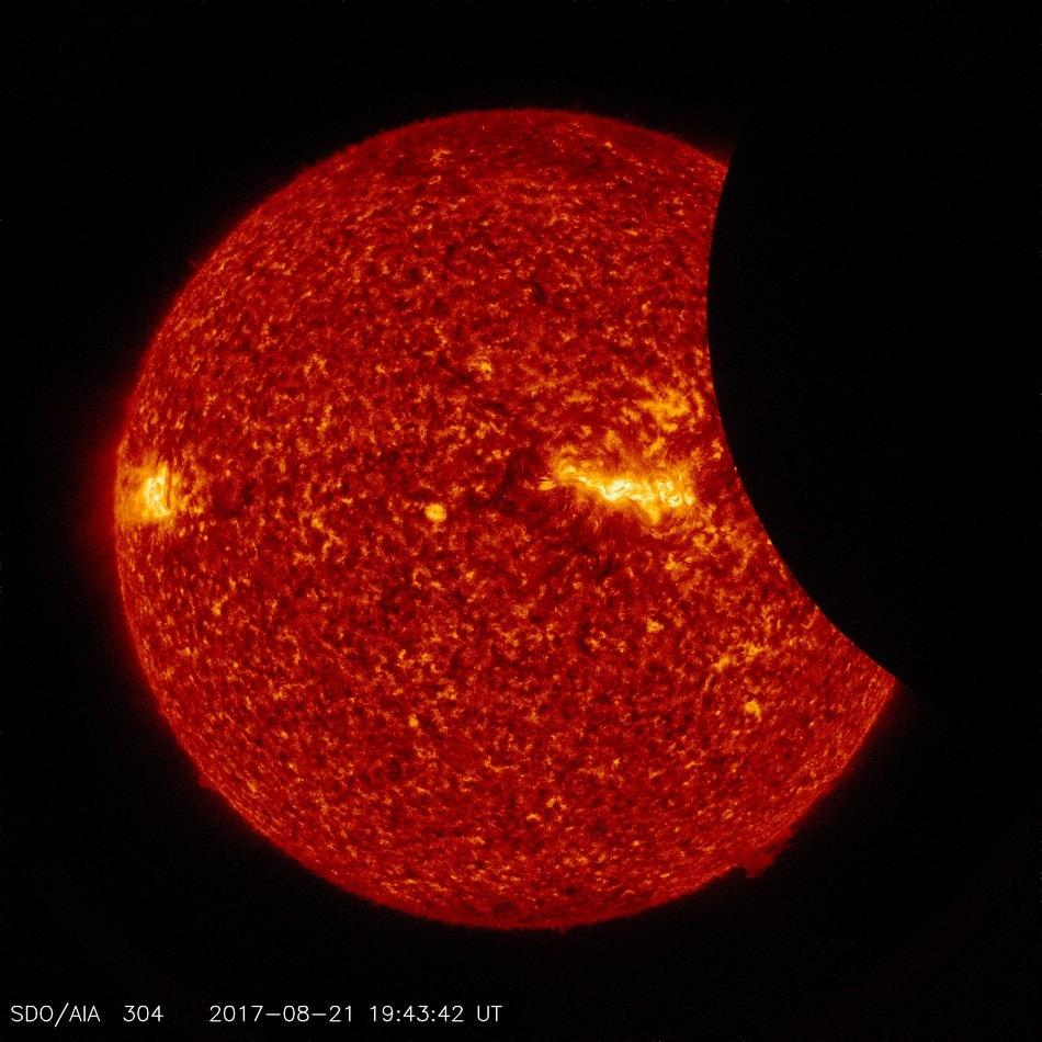 SDO NASA éclipse solaire 2017