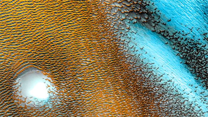 mars eau planète rouge glace découverte analyse données odyssey