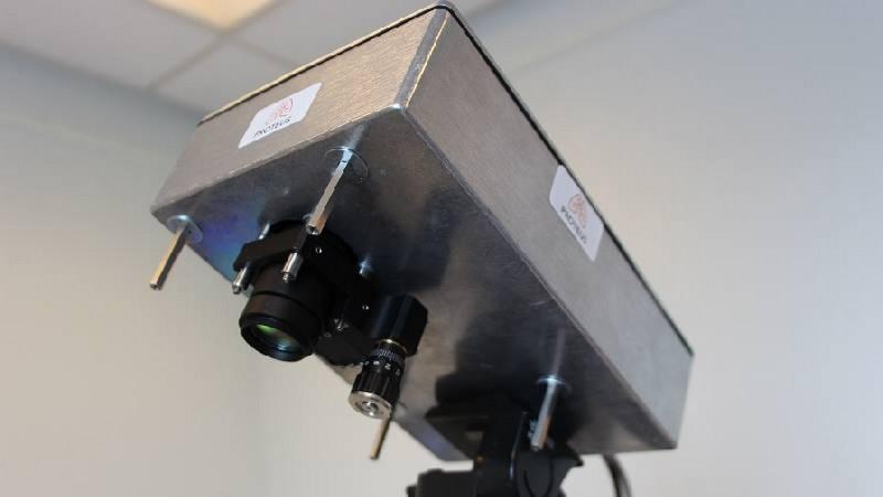 prototype caméra voir à travers le corps tissus corporel
