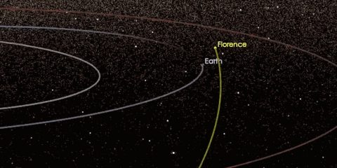 terre florence asteroide triple passage proche nasa jpl