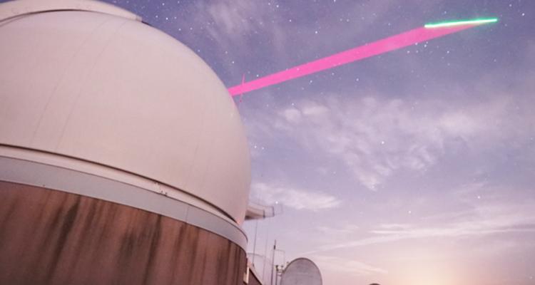 enchevetrement quantique communication physique conference satellite
