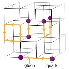 qcd gluons quarks reseaux