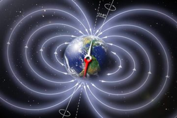 champ magnétique terrestre changement inversion pôles sud nord