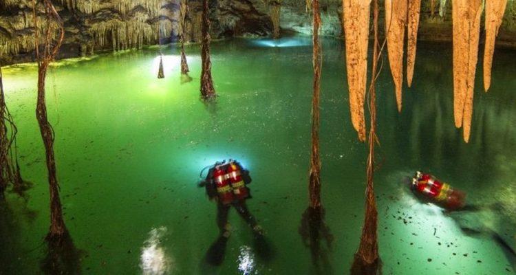 La grotte submergée la plus vaste du monde découverte au Mexique (vidéo)