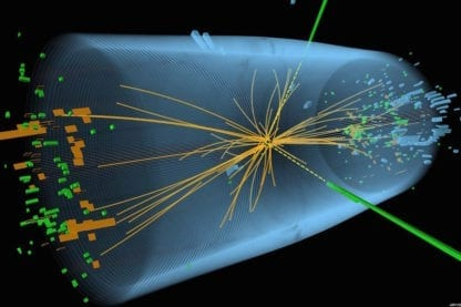 image synthèse boson higgs cern découverte collision