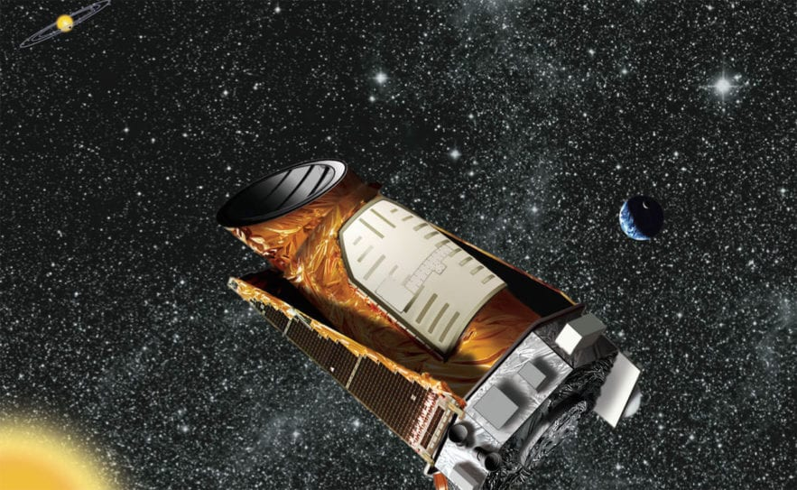 IA intelligence artificielle telescope kepler nasa image vue artiste decouvertes