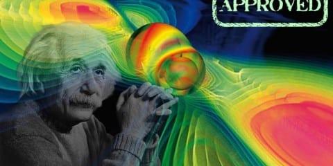 ondes gravitationnelles détectées approuvé confirmé einstein relativité