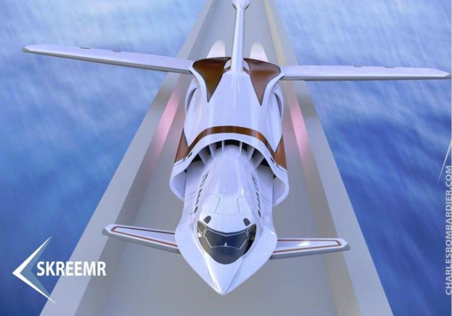 skreemr avion supersonique 30 min
