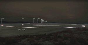 systeme solaire désert nevada échelle