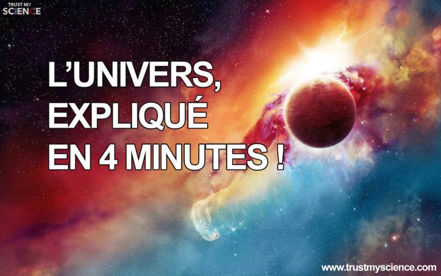 univers expliqué en 4 minutes video vidéo