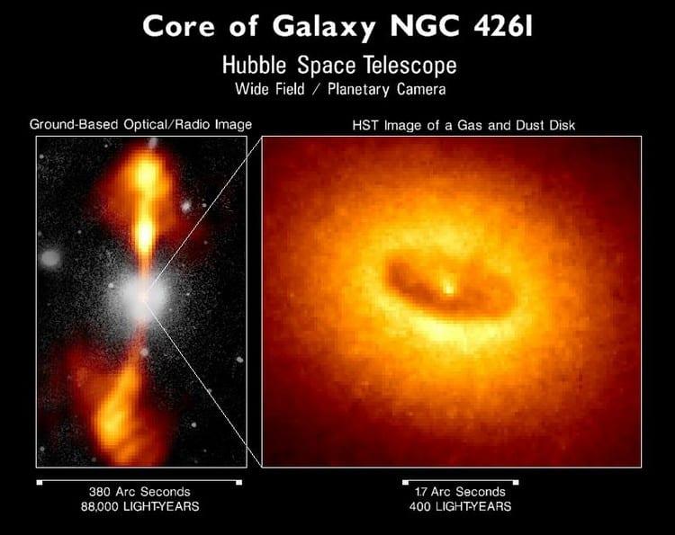 trou noir, hubble, trou, noir, premier, image, espace, création, découverte,