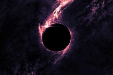 trou noir supermassif trou noir espace gravité masse déformation
