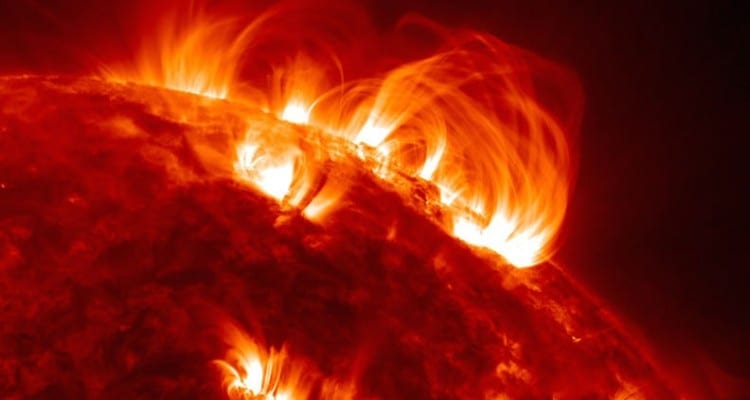 soleil éruption sdo satellite