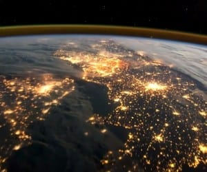 europe espace ISS vidéo terre