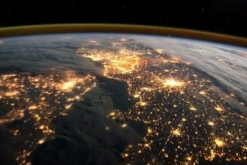 europe espace ISS vidéo terre