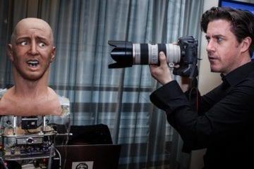 han hanson robotics humanoïde robots robot réaliste visage