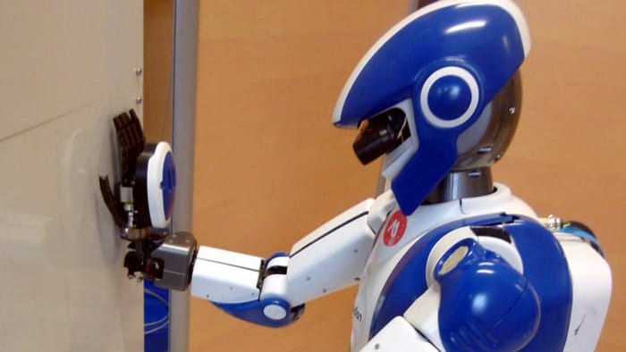 hrp-4 airbus multi-contacts tests kawada humanoïde robot