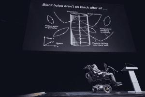stephen hawking trou noir rayonnement