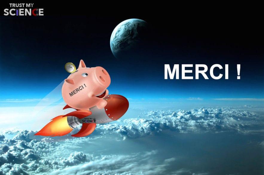 donations merci tirelire tirelire spatiale espace cochon euro