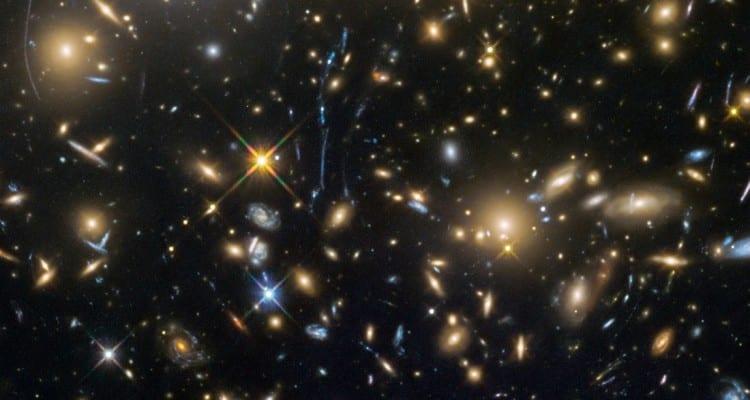 amas galaxie