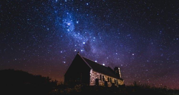 Ciel nocture lac tekapo astronomie astres constellations