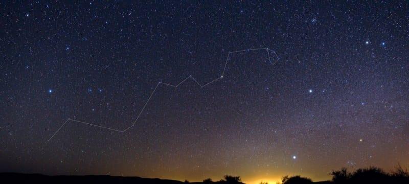 constellation astronomie astres ciel hydre