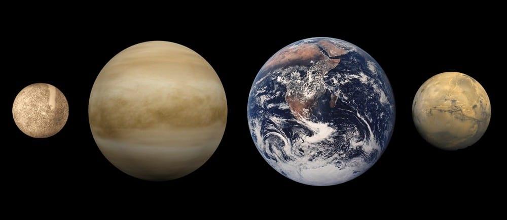 Planètes telluriques