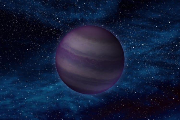 Naine brune planète étoile univers galaxie