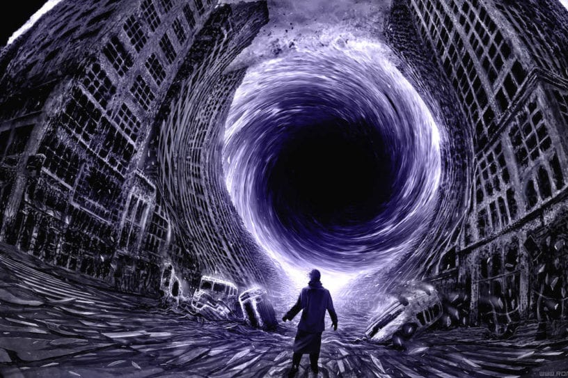 trou noir blackhole ville aspiration expérimentation hawking